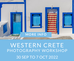 Western Crete Photography Workshop