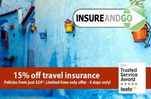 travel insurance promo