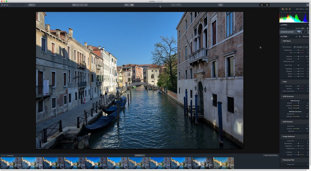 Aurora HDR 2018 – Single Image Processing?
