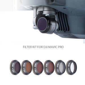 NiSi Filter kit for DJI Mavic Pro (6 Pack)