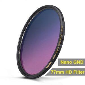 NiSi Nano Coating Graduated Neutral Density Filter GND16 1.2
