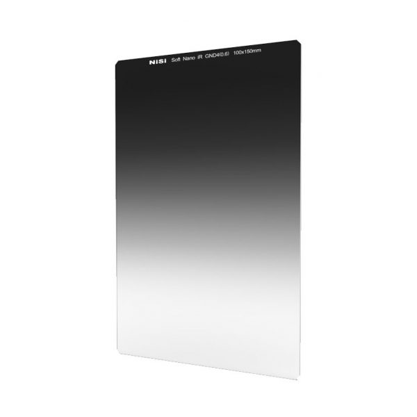 NiSi 100x150mm Nano IR Soft Graduated Neutral Density Filter - ND4 (0.6) - 2 Stop