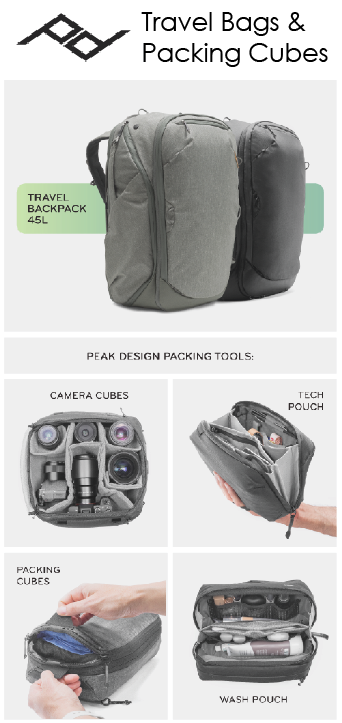 Travel Bags by Peak Design