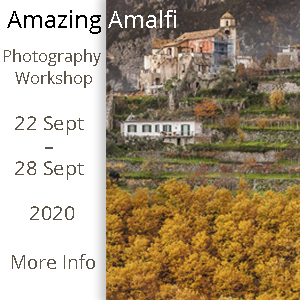 Amazing Amalfi Photography Workshop